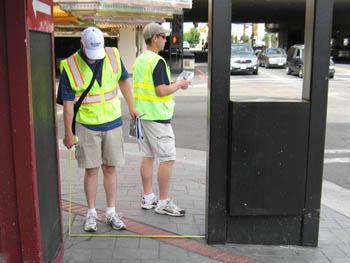 Walking Audit along 4th Street