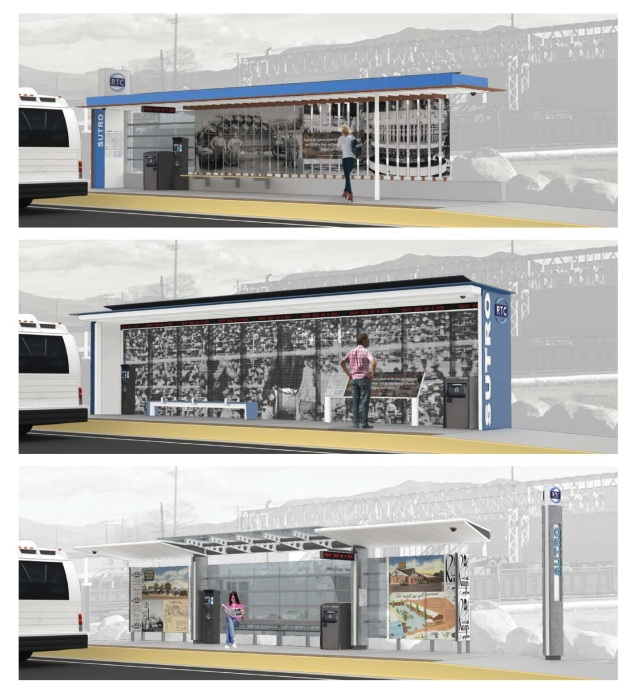 3D Renderings of the Proposed Station Concepts